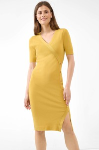 Sukienka ORSAY midi ołówkowa z dekoltem w kształcie litery v