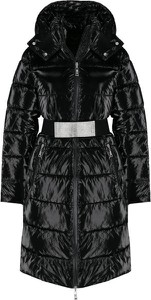 Czarny płaszcz My Twin