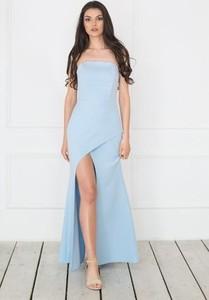 12a1f3290c błękitna sukienka dodatki - stylowo i modnie z Allani