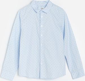 Koszula dziecięca Reserved z bawełny w groszki dla chłopców