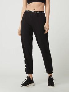 Czarne spodnie DKNY w sportowym stylu