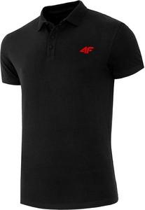 Czarna koszulka polo 4F w stylu casual
