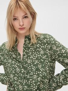 Zielona koszula Cropp w stylu casual