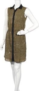 Zielona sukienka Camaieu mini bez rękawów