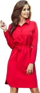 Sukienka Moda Dla Ciebie mini koszulowa