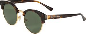 Brązowe okulary damskie Kapten & Son