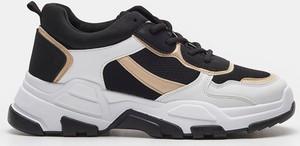 Buty sportowe Sinsay sznurowane w sportowym stylu