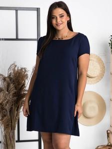 Sukienka KARKO w stylu casual z krótkim rękawem mini