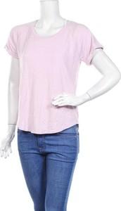 Różowa bluzka Workshop z okrągłym dekoltem