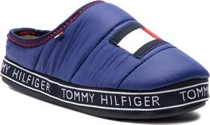 Niebieskie kapcie Tommy Hilfiger