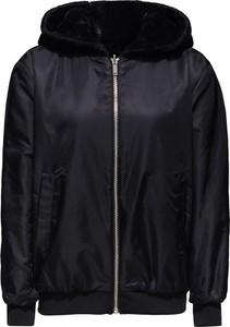 Czarna kurtka Esprit w stylu casual krótka