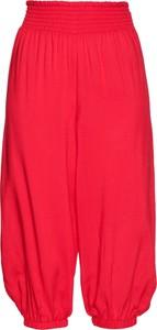 Czerwone spodnie bonprix bpc selection