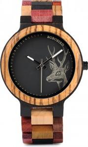 Zegarek drewniany PREMIUM BOBO BIRD P14-2