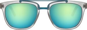Miętowe okulary damskie Woodys Barcelona
