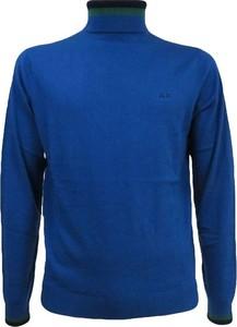 Niebieski sweter Sun 68 w stylu casual