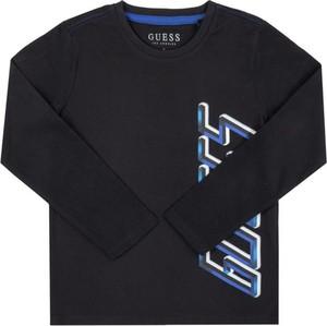 Czarna bluzka dziecięca Guess