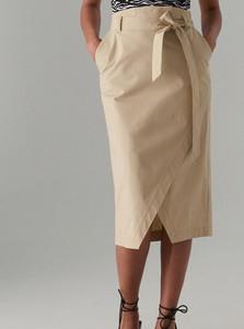 b6311c75 Beżowe spódnice z bawełny Mohito, kolekcja lato 2019