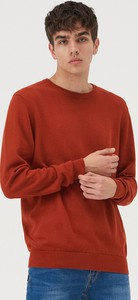 Czerwony sweter Sinsay w stylu casual