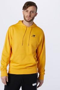 Żółty sweter New Balance z bawełny