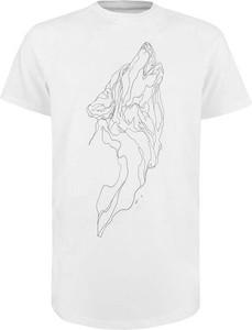 T-shirt Majesty z bawełny
