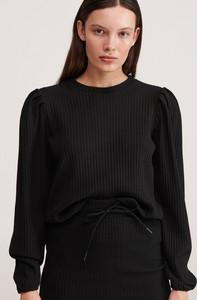 Bluzka Reserved z dzianiny w stylu casual z długim rękawem
