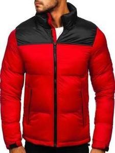 Czerwona kurtka Denley z dresówki