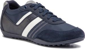 Niebieskie buty sportowe Geox
