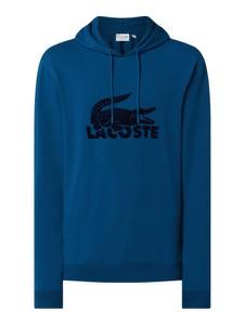 Granatowa bluza Lacoste