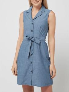 Sukienka Vero Moda bez rękawów z bawełny