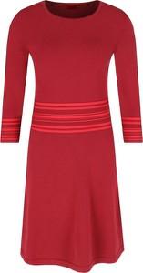 Sukienka Hugo Boss w stylu casual mini z długim rękawem