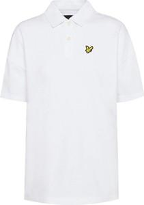 Koszulka polo Lyle & Scott z krótkim rękawem z bawełny