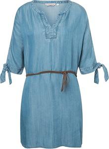 Sukienka Timezone z długim rękawem z dekoltem w kształcie litery v