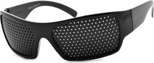 Czarne okulary damskie Stylion
