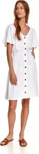 Sukienka Top Secret w stylu casual mini z krótkim rękawem