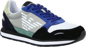 Emporio Armani Sneakersy | z dodatkiem skóry