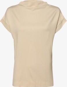 Bluzka Esprit z krótkim rękawem z golfem