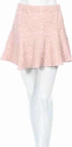 Różowa spódnica By Ti Mo w stylu casual mini