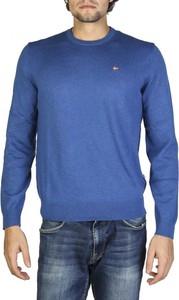 Sweter Napapijri z okrągłym dekoltem z wełny