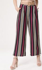 Born2be czarno-różowe spodnie in your pocket