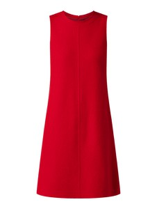 Czerwona sukienka Marc O'Polo z wełny trapezowa mini