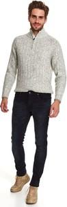 Spodnie Top Secret z jeansu w stylu casual