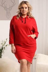 Sukienka KARKO z bawełny mini w stylu casual