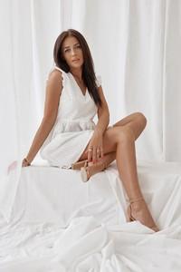 Sukienka Rose Boutique z bawełny bez rękawów mini