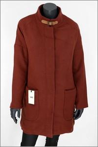 Czerwony płaszcz Lee w stylu casual