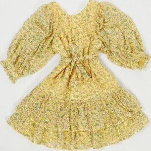 Sukienka Asos mini z długim rękawem
