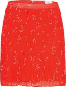 Spódnica minimum w kwiaty w stylu casual mini