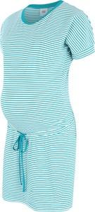Niebieska sukienka Mama Licious z bawełny