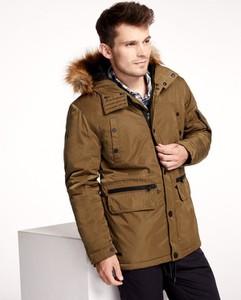 Brązowa kurtka Diverse w stylu casual