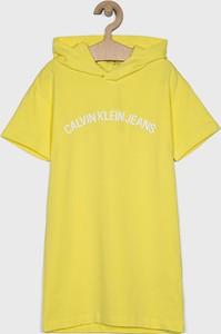 Sukienka dziewczęca Calvin Klein Jeans