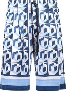 Niebieskie spodenki Dolce & Gabbana w młodzieżowym stylu